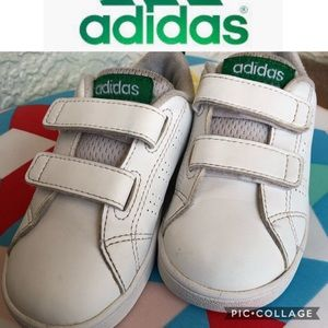 Adidas kids white Snickers